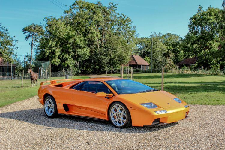 2000 Lamborghini Diablo V-T UK-spec supercar wallpaper