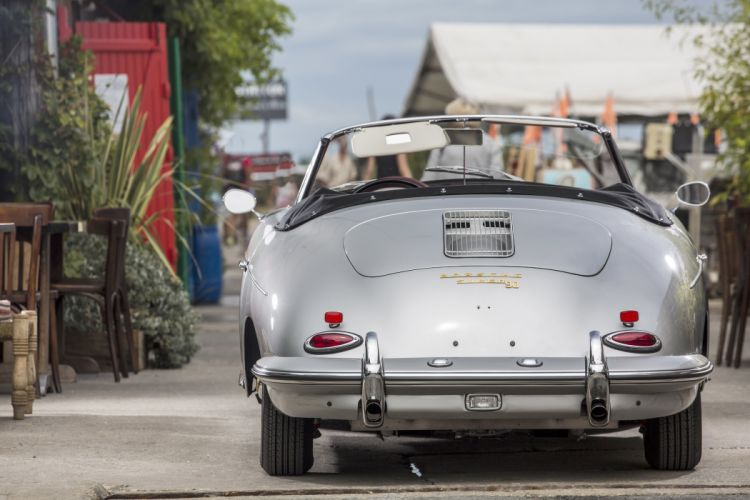 1961 Porsche 356B 1600 Super-90 Roadster Drauz T-5 356 classic wallpaper