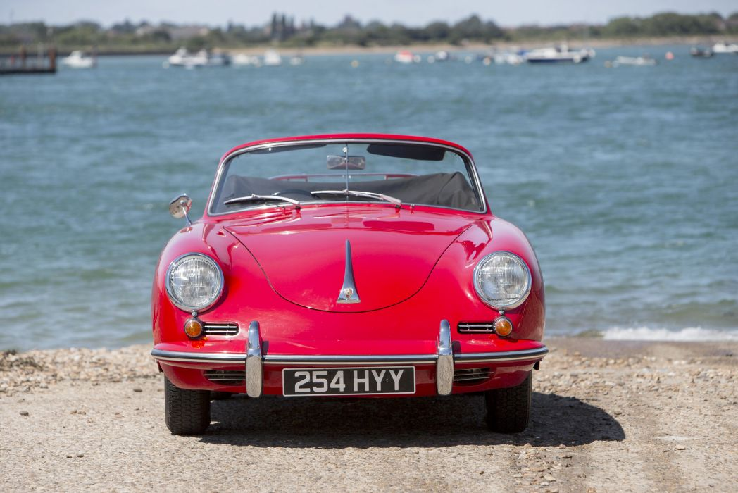 1962 Porsche 356B 1600 Super-90 Cabriolet Reutter UK-spec T-5 356 classic wallpaper