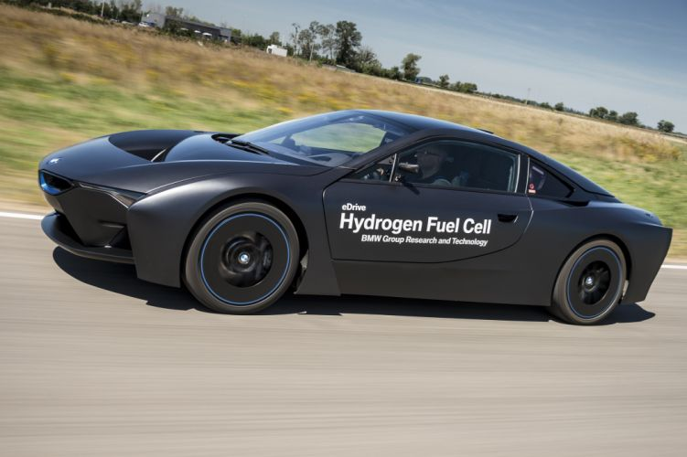 2015 BMW i-8 Hydrogen Fuel Cell eDrive Prototype supercar wallpaper