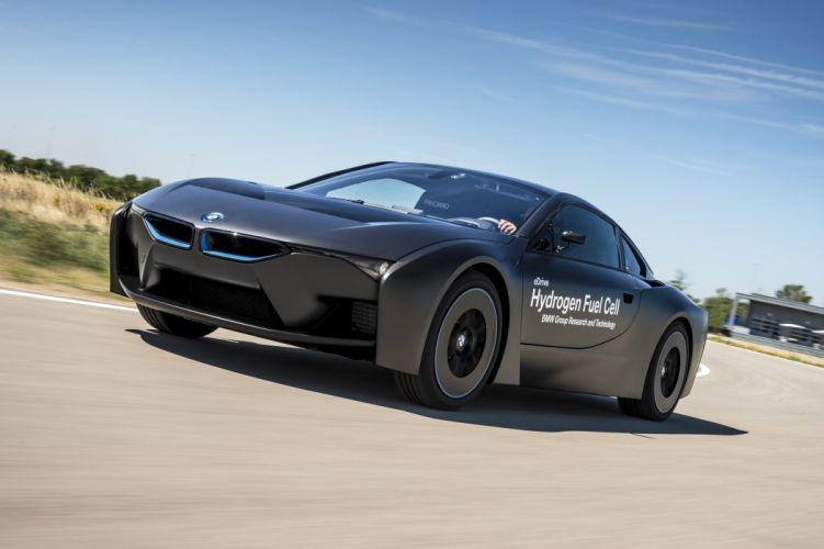 2015 BMW i-8 Hydrogen Fuel Cell eDrive Prototype supercar wallpaper