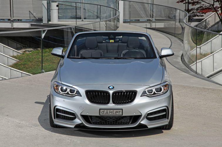 2015 dAHLer BMW M235i Cabriolet cars modified wallpaper