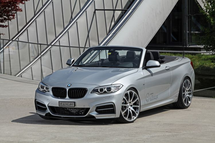 2015 dAHLer BMW M235i Cabriolet cars modified wallpaper