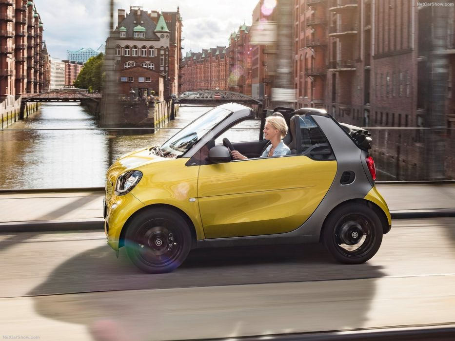 2016 Smart Fortwo Cabrio 2016 cars wallpaper
