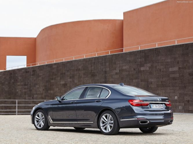 BMW 730d cars sedan 2016 wallpaper