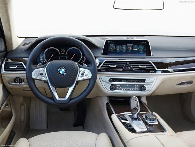 BMW 750Li xDrive cars sedan limo 2016 wallpaper