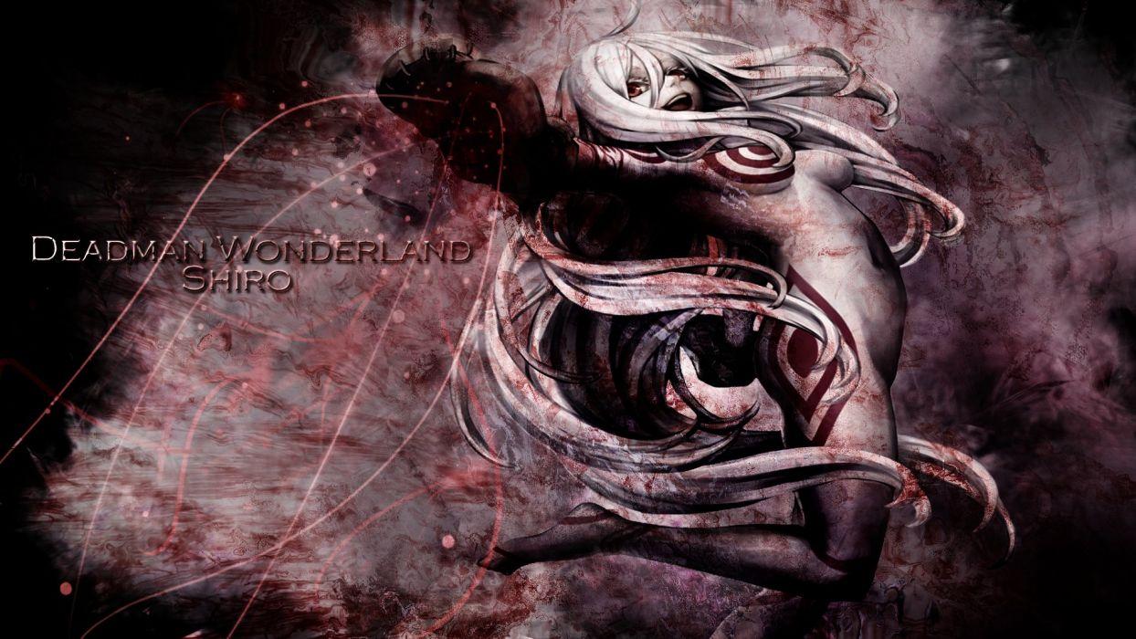Deadman Wonderland Shiro Wallpaper 1920x1080 790323