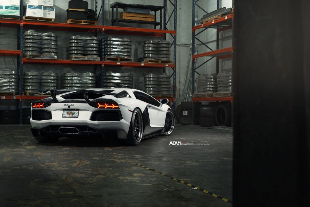 ADV1 WHEELS GALLERY LAMBORGHINI AVENTADOR cars coupe supercars wallpaper
