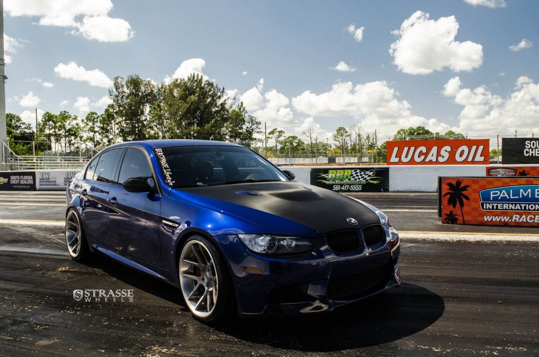 Strasse Wheels BMW-M3 e90 sedan cars wallpaper