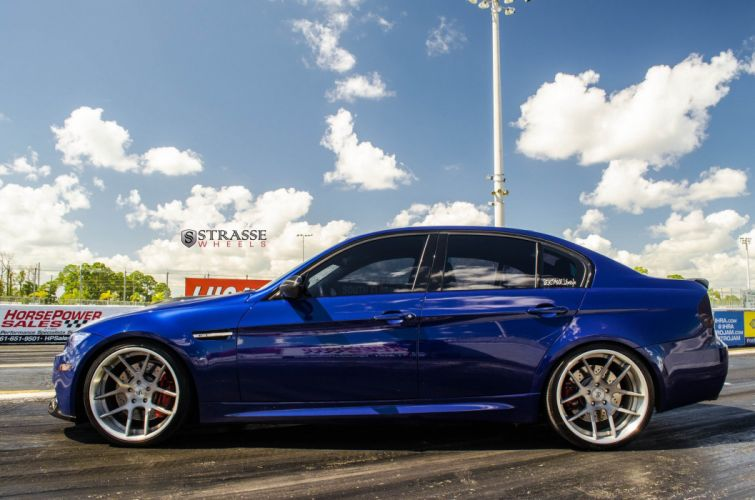 Strasse Wheels BMW-M3 e90 sedan cars wallpaper