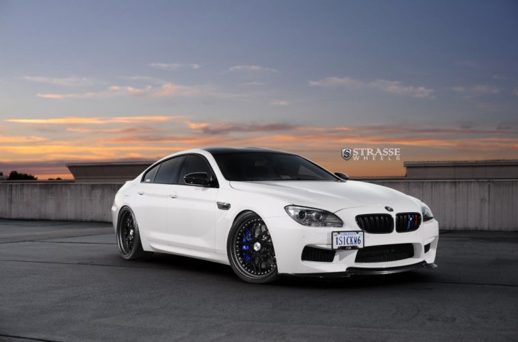 Strasse Wheels BMW-M6 GranCoupe cars wallpaper