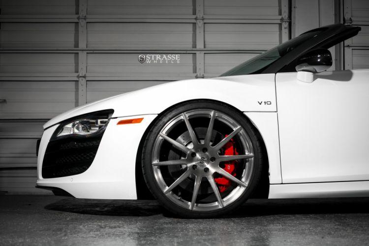 Strasse Wheels Audi-R8 Spyder cars wallpaper