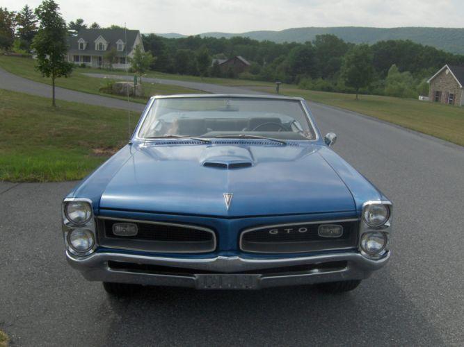 PONTIAC GTO muscle classic wallpaper