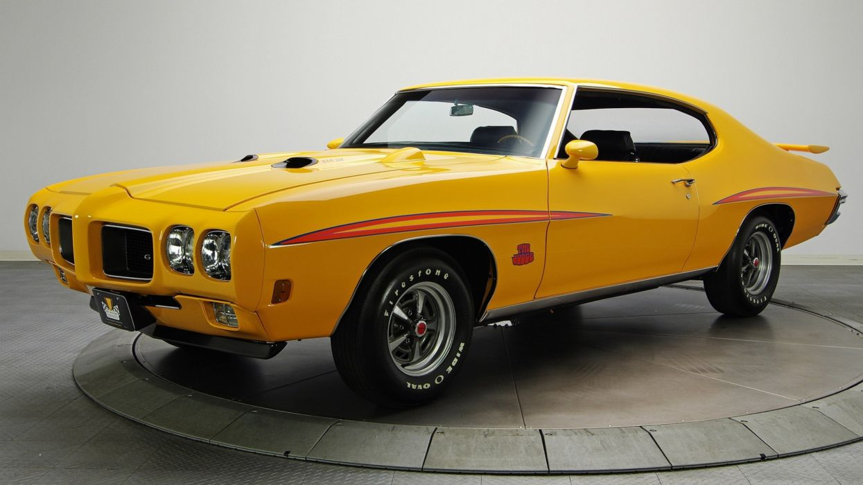 PONTIAC GTO muscle classic wallpaper