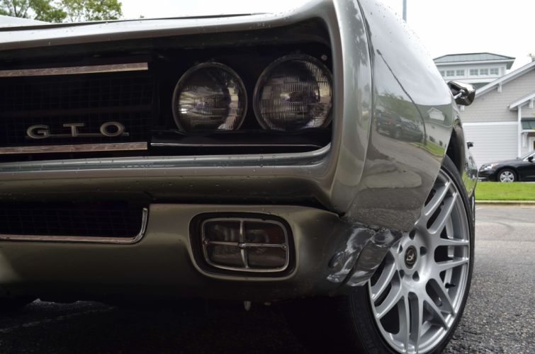 PONTIAC GTO muscle classic hot rod rods custom wallpaper