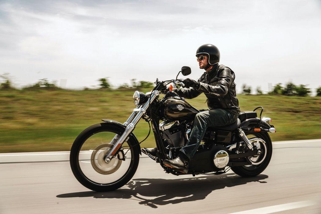 2016 Harley Davidson Dyna Wide Glide motorbike bike motorcycle wallpaper