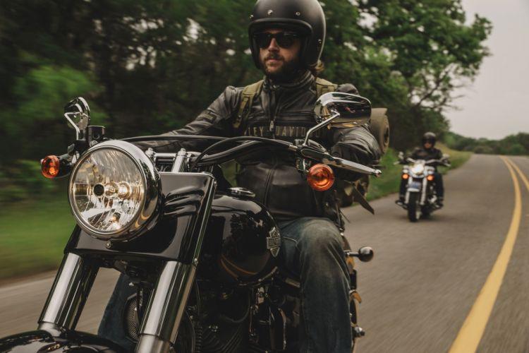 2016 Harley Davidson Softail Slim motorbike bike motorcycle wallpaper