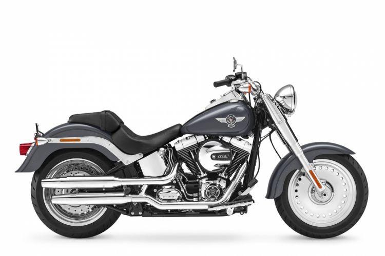 2016 Harley Davidson Softail Fat Boy motorbike bike motorcycle wallpaper