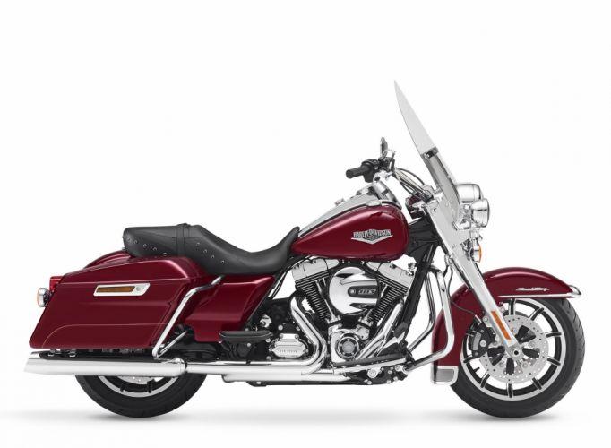 2016 Harley Davidson Touring Road King motorbike bike motorcycle wallpaper