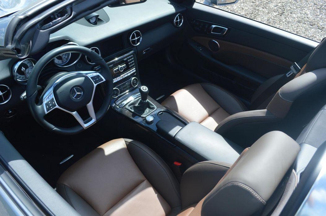 2015 Mercedes-Benz SLK250 cars roadster wallpaper