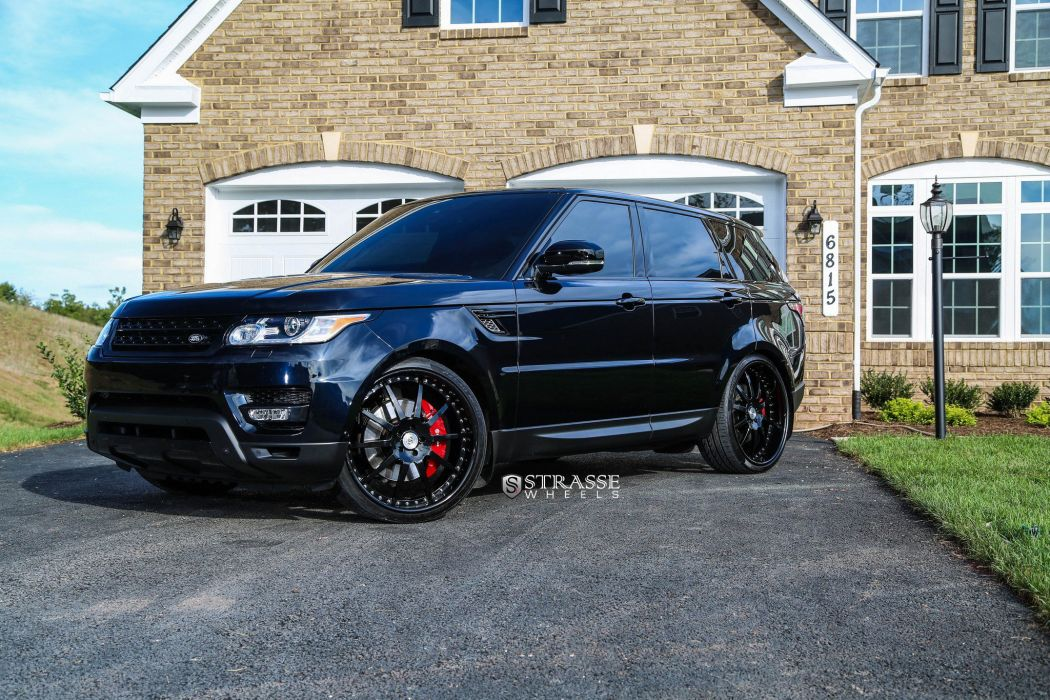 Strasse Wheels Supercharged Range Rover HSE Sport suv cars wallpaper