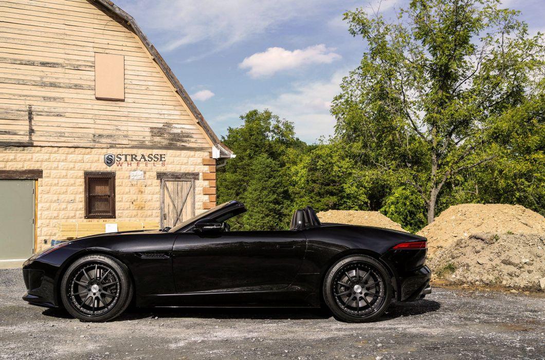 Strasse Wheels Jaguar F-Type convertible cars wallpaper
