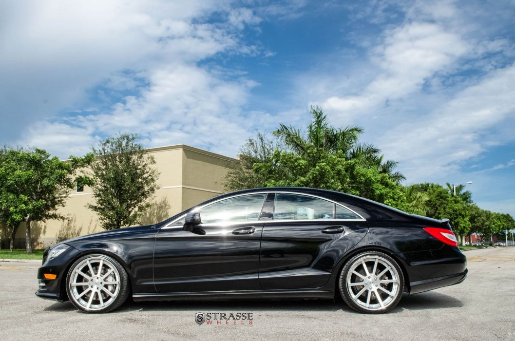 Strasse Wheels Mercedes-Benz CLS550 cars wallpaper