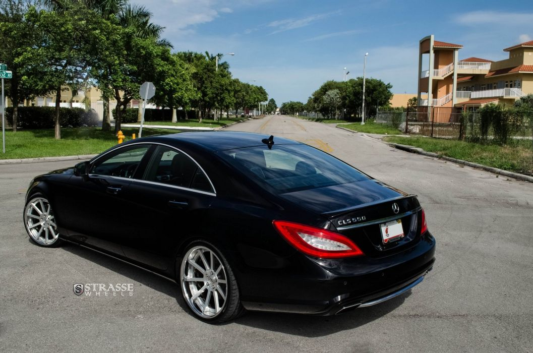 Strasse Wheels Mercedes-Benz CLS550 cars wallpaper