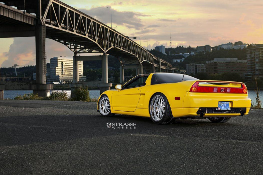 Strasse Wheels Acura NSX cars wallpaper