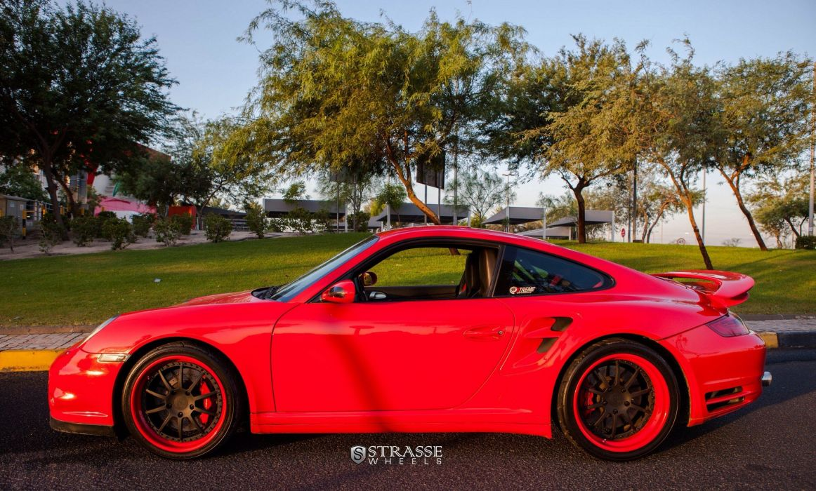 Strasse Wheels Porsche 911 997 coupe Turbo cars wallpaper