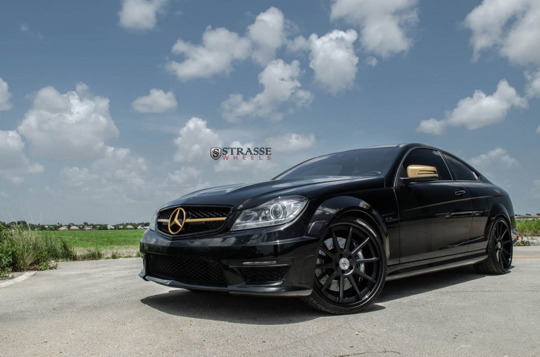 Strasse Wheels mercedes C63 AMG cars wallpaper