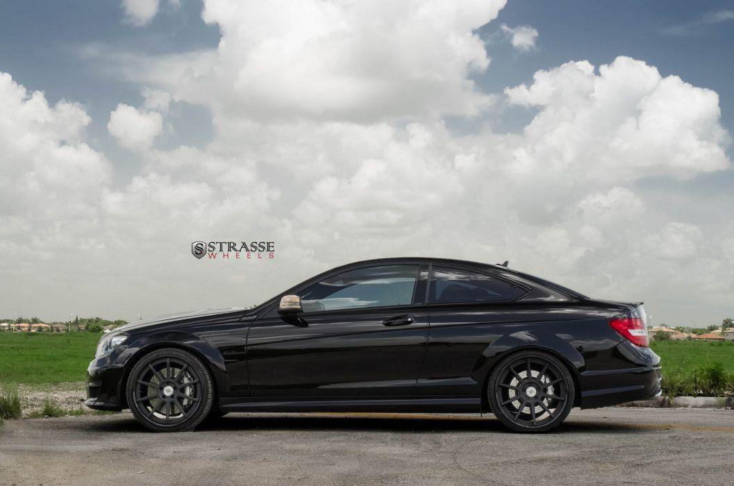 Strasse Wheels mercedes C63 AMG cars wallpaper