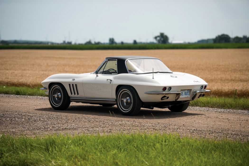 1965 Chevrolet Corvette Sting Ray L79 327-350 HP Convertible cars classic wallpaper