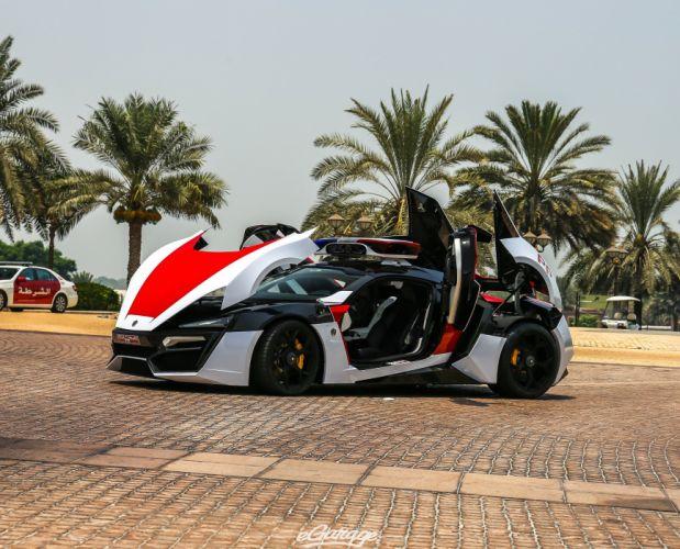 Abu Dhabi Police Lykan Hypersport cars supercars wallpaper