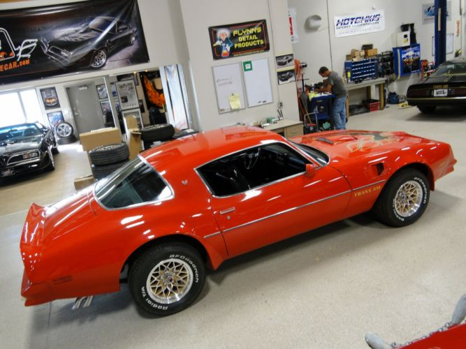1978 Red Pontiac Trans-Am cars coupe usa wallpaper