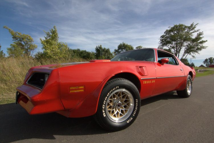 1978 Red Pontiac Trans-Am cars coupe usa wallpaper