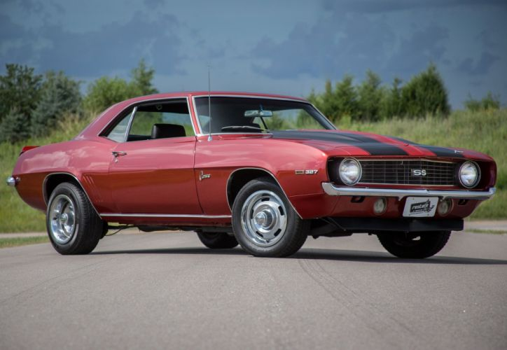 1969 Camaro-ss chevy chevrolet cars classic wallpaper