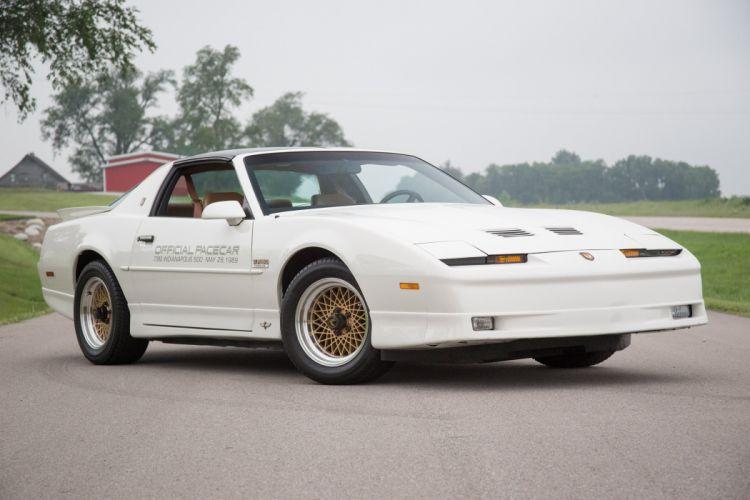 1989 cars Coupe pontiac Trans-Am USA pace car wallpaper