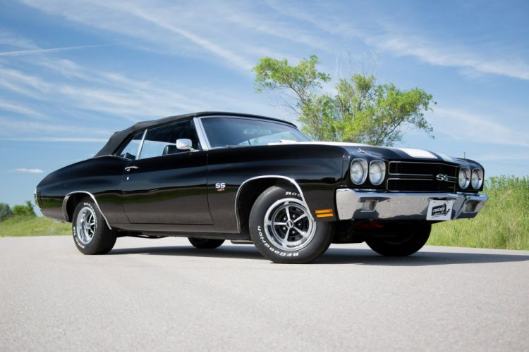1970 cars convertible Chevelle-SS chevy chevrolet cars wallpaper