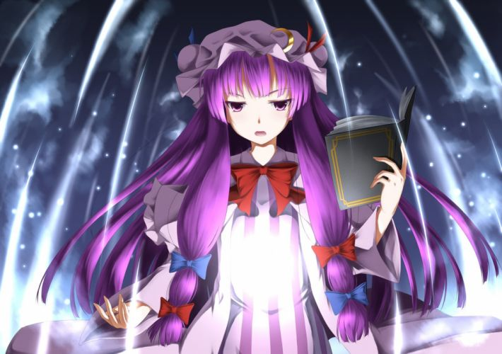 Touhou project Patchouli Knowledge wallpaper