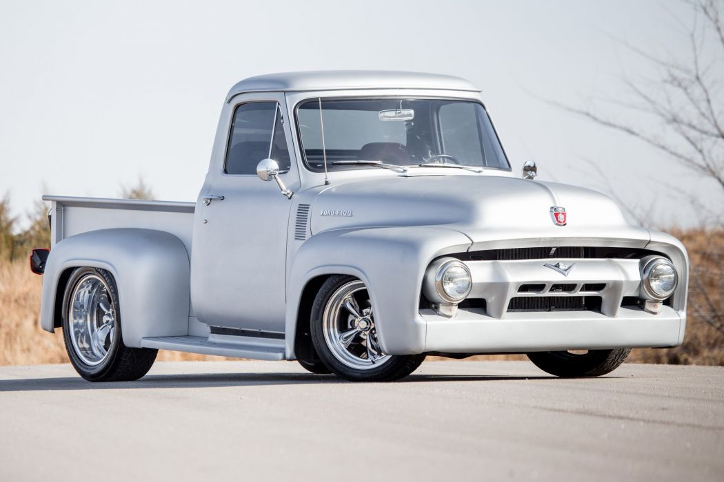 1954 Ford F100 Custom cars pickup wallpaper