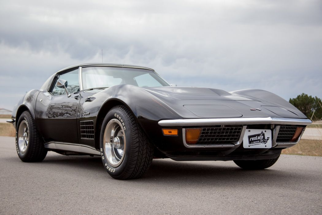 1972 Chevrolet Corvette stingray coupe cars wallpaper