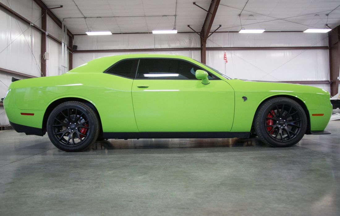 2015 Dodge Challenger Hellcat cars coupe wallpaper