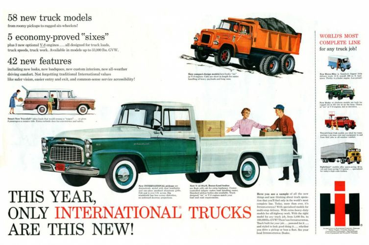 INTERNATIONAL truck pickup harvester wallpaper