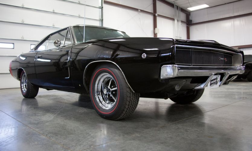 1968 dodge charger coupe cars wallpaper