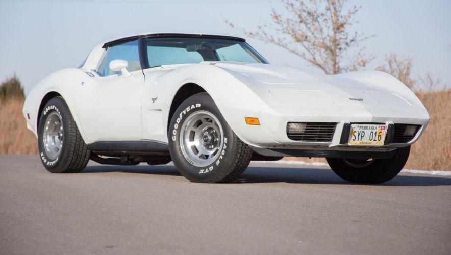 1979 chevy chevrolet corvette (c3) coupe cars wallpaper
