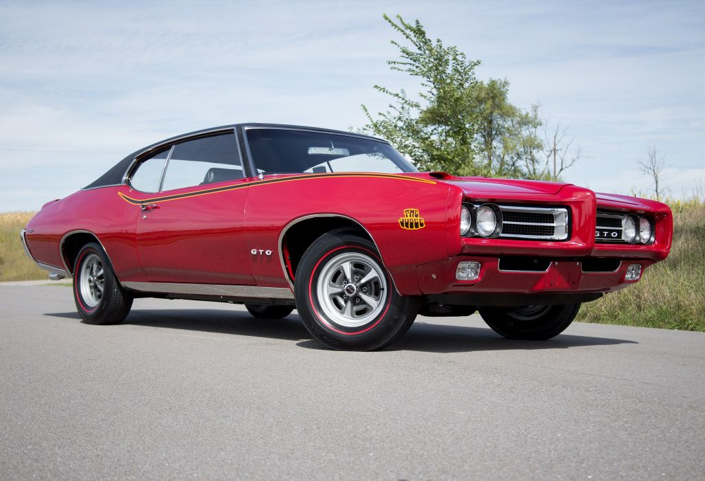 1969 pontiac GTO Judge Ram Air I V coupe cars wallpaper