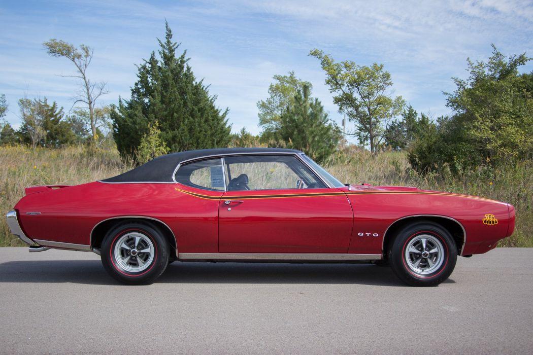 1969 pontiac GTO Judge Ram Air I V coupe cars wallpaper