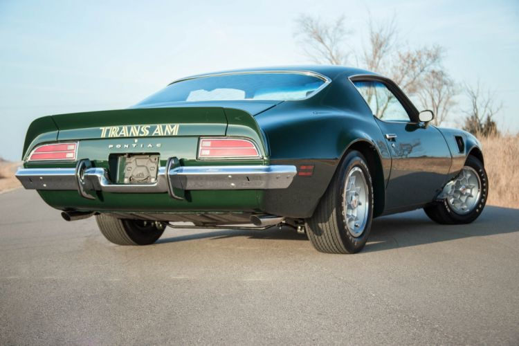 1973 pontiac Green Trans-Am coupe cars wallpaper