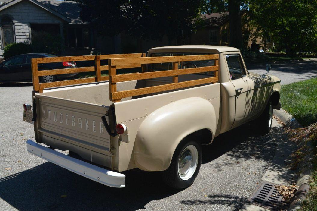 STUDEBAKER PICKUP truck retro classic wallpaper